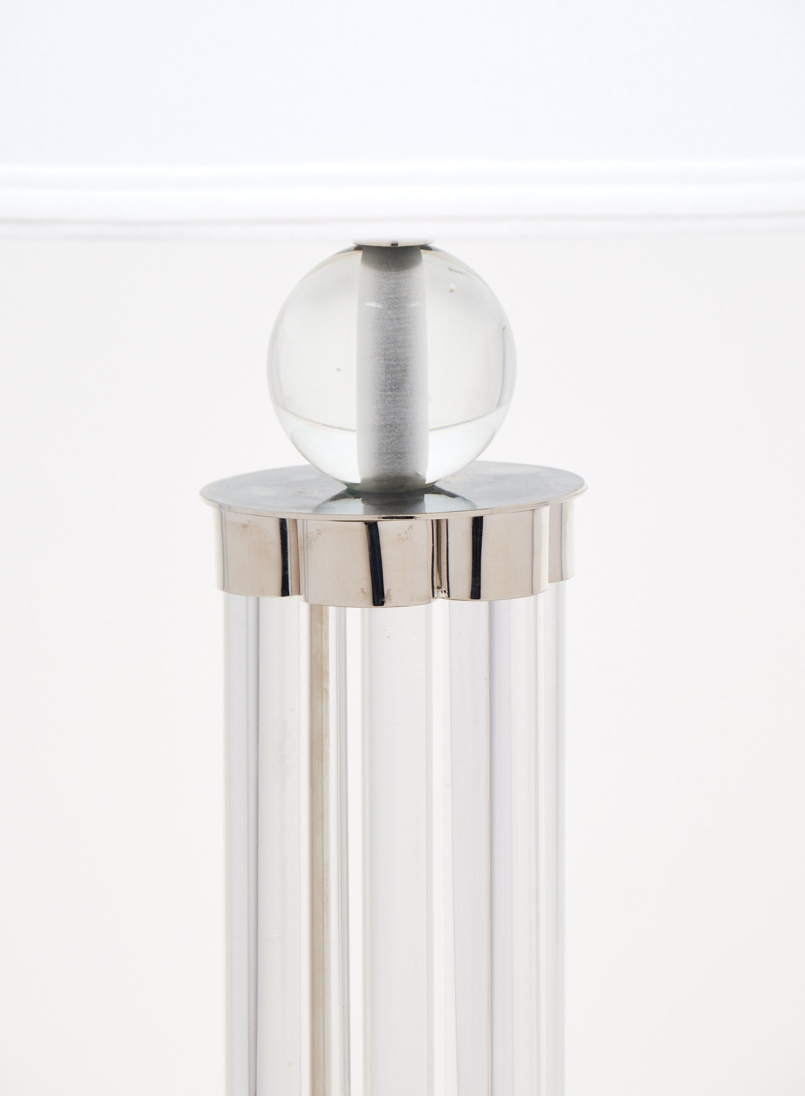 Modernist Pair of Murano Glass Tube