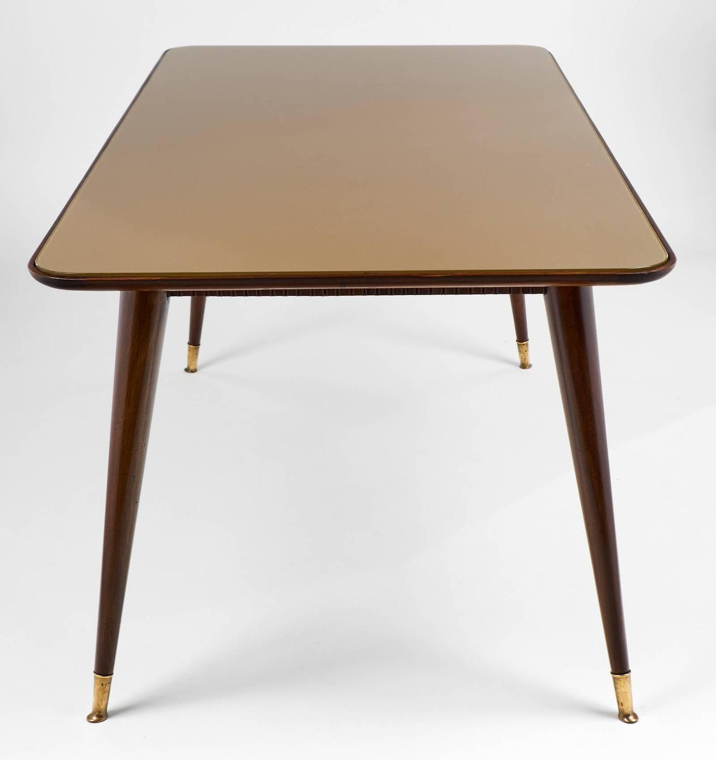 Mid century modern italian dining room table for sale at for Italian dining table
