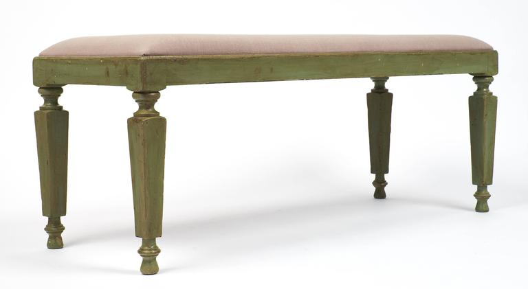 Late 19th Century Directoire Style French 19th Century Pair of Benches For Sale