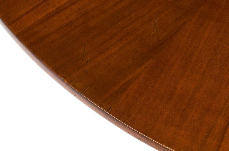 Mid-Century Italian Walnut Table Style of Paolo Buffa For Sale 1