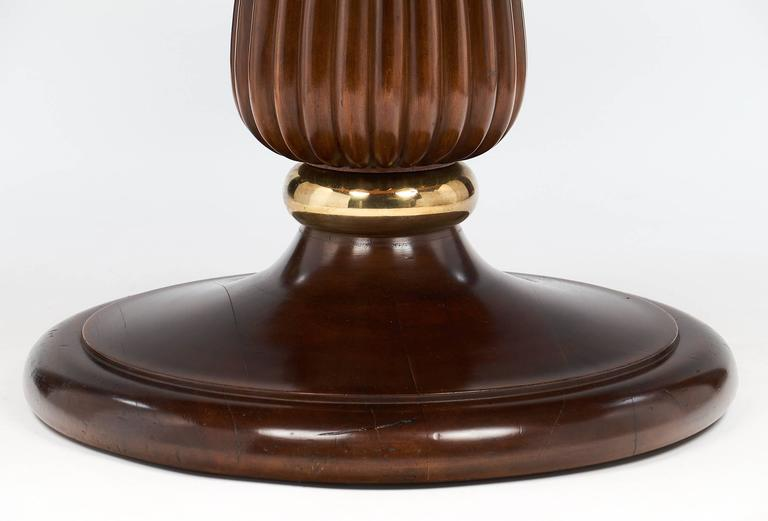 Mid-Century Italian Walnut Table Style of Paolo Buffa For Sale 3