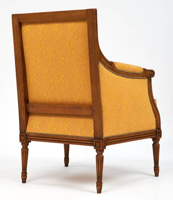 Louis XVI Style Vintage Bergères For Sale 2