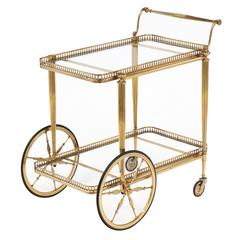 Art Deco Carts and Bar Carts