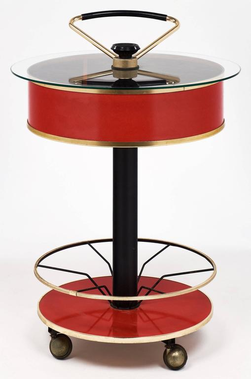 Modernist Italian Bar Cart 6