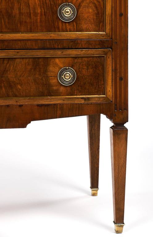 Louis XVI Style Chest with Pull-Out Writing Surface For Sale 3