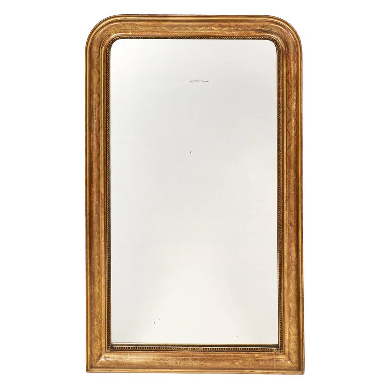 Antique French Louis Philippe Period Mirror