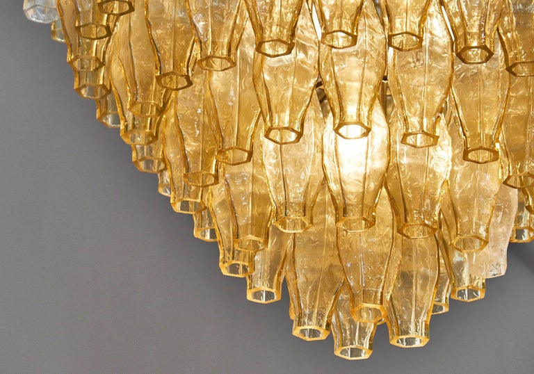 Murano Glass Vintage Chandelier in the Style of Venini 8