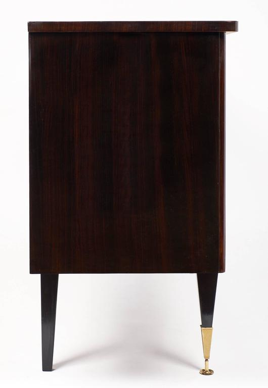 French Mid-Century Modern Vintage Macassar Buffet For Sale 4