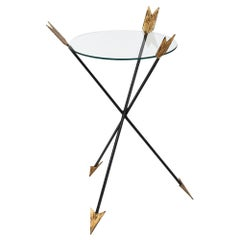 Antique Empire Style Arrow Side Table