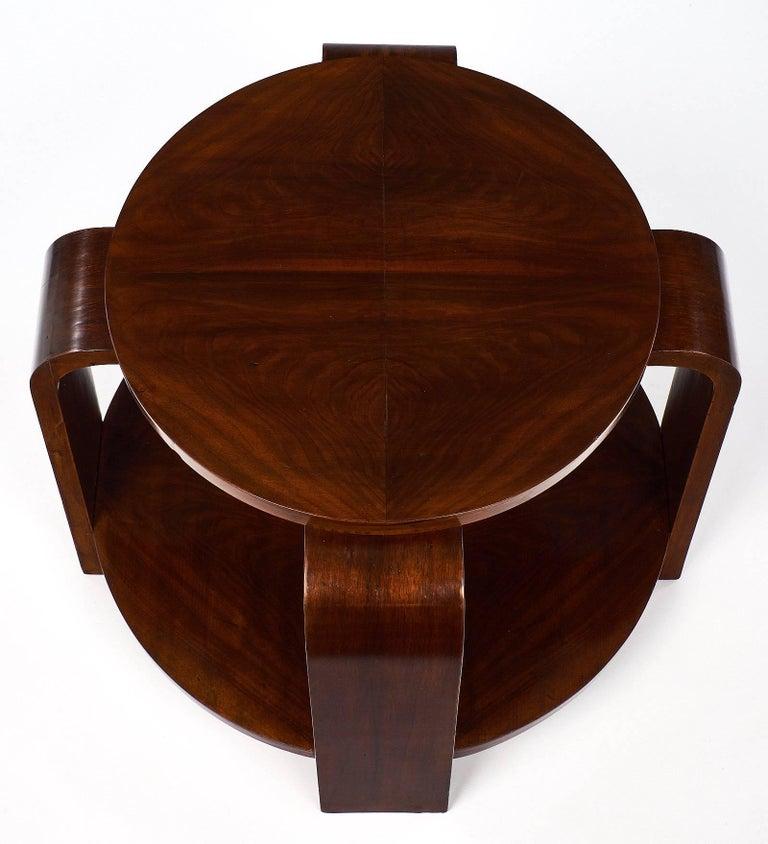 walnut art deco period gueridon for sale at 1stdibs. Black Bedroom Furniture Sets. Home Design Ideas