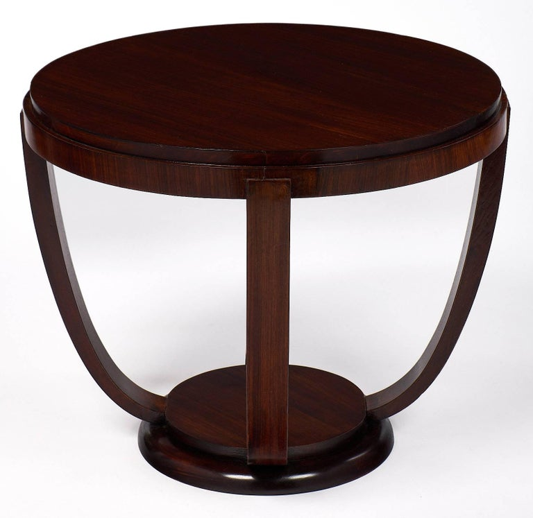 french art deco period gueridon for sale at 1stdibs. Black Bedroom Furniture Sets. Home Design Ideas