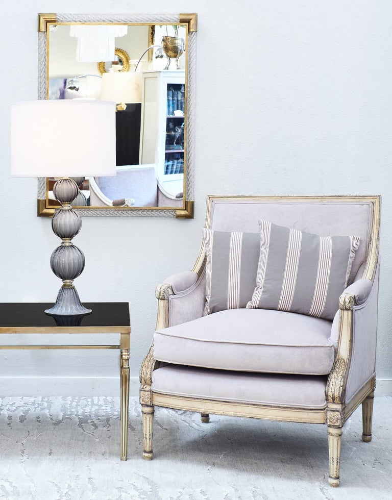 Vintage Brass And Black Glass French Coffee Table At 1stdibs