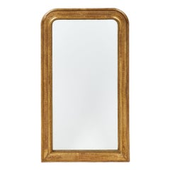 Louis Philippe Antique Gold Leafed Mirror