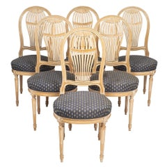 Céruse Louis XVI Style Dining Chairs