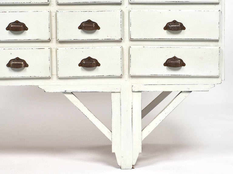 Antique French Haberdashery Cabinet For Sale 4