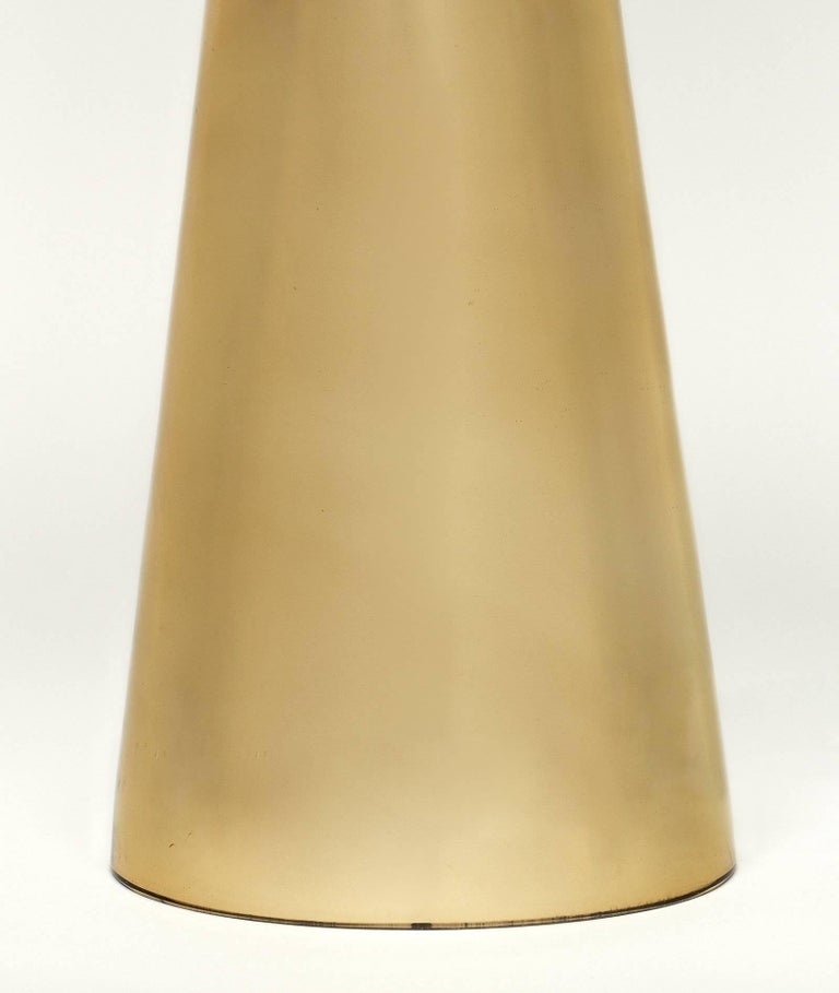 Gold Murano Glass Table Lamps For Sale 3