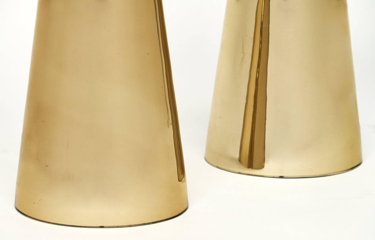 Gold Murano Glass Table Lamps For Sale 2