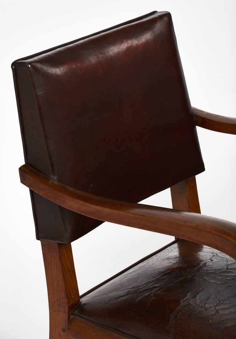 Art deco period french bridge chair for sale at 1stdibs for Art deco era dates