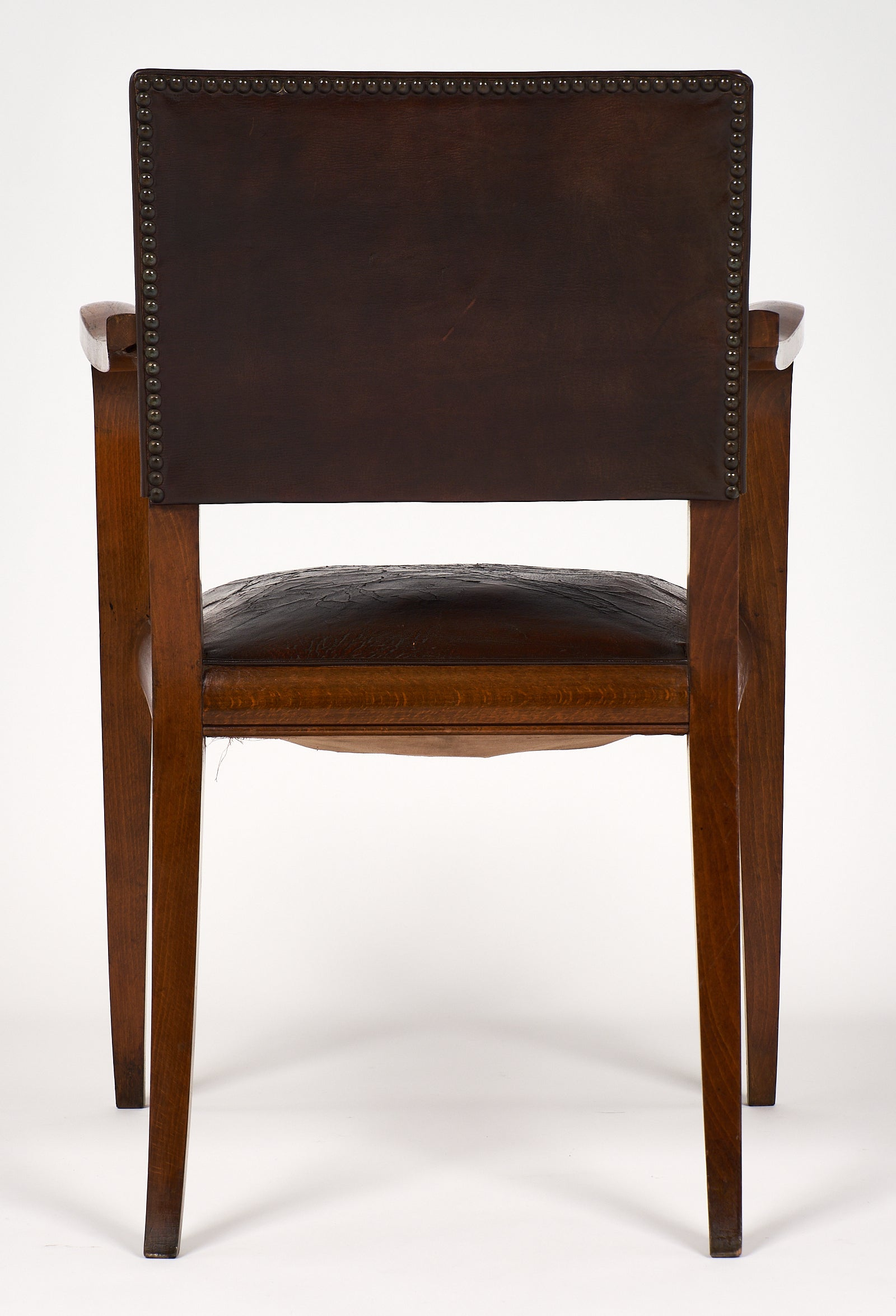 Art deco period furniture Original Jeanluc Ferrand Antiquaire Art Deco Period French Bridge Chair For Sale At 1stdibs