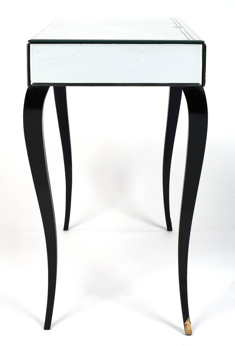 Mirrored Art Deco Period Vanity For Sale 3