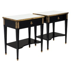 Vintage Directoire Style Side Tables