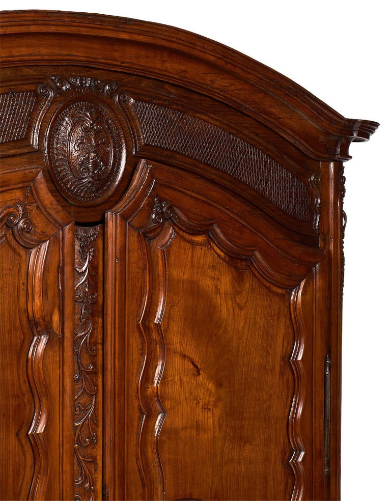 Late 18th Century French 18th Century Louis XV Armoire For Sale