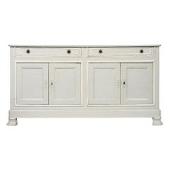 Painted Antique Restoration Style Buffet