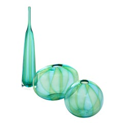 Murano Glass Handblown Trio