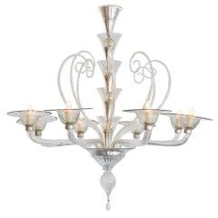 Murano Glass Vintage Chandelier