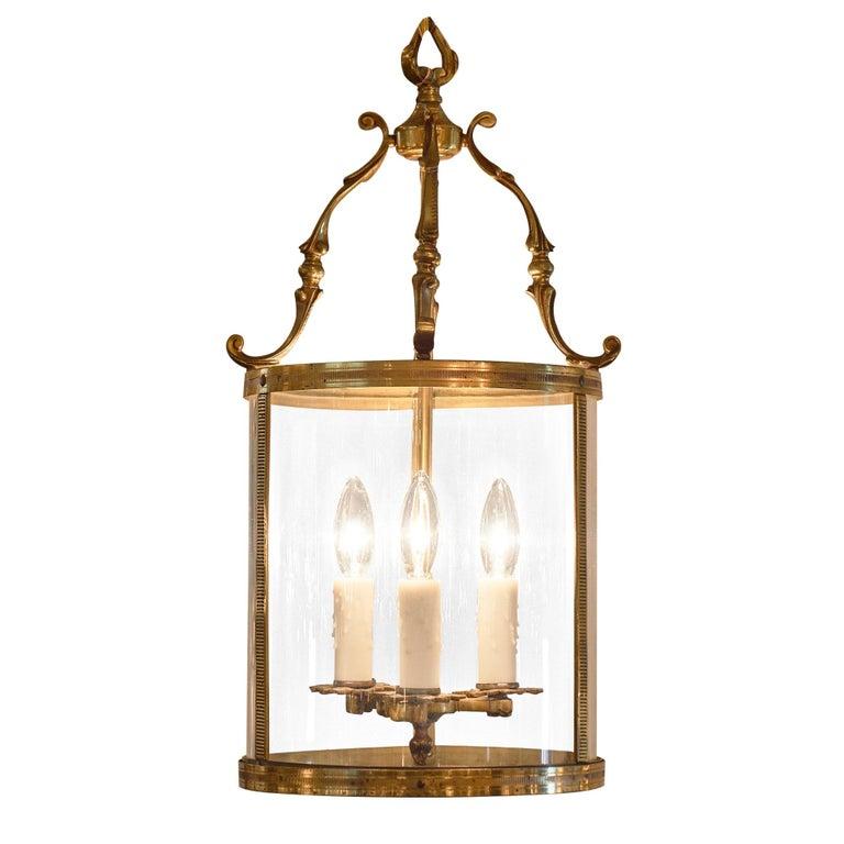 Louis XVI Style Bronze Lantern