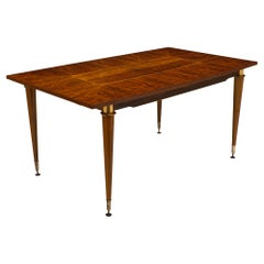 Rosewood French Modernist Dining Table