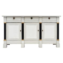 Painted Directoire Style French Buffet
