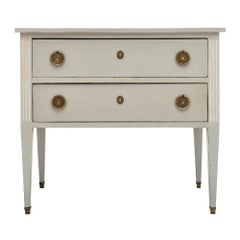 Directoire Style French Painted Chest