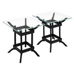 Italian Iron Vintage Side Tables