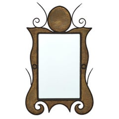 Art Nouveau French Mirror
