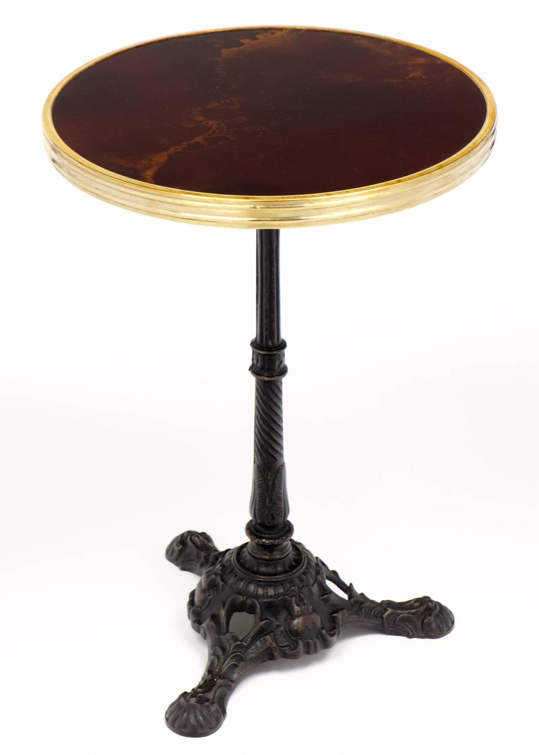 French Parisian Antique Bistro Table For Sale At 1stdibs