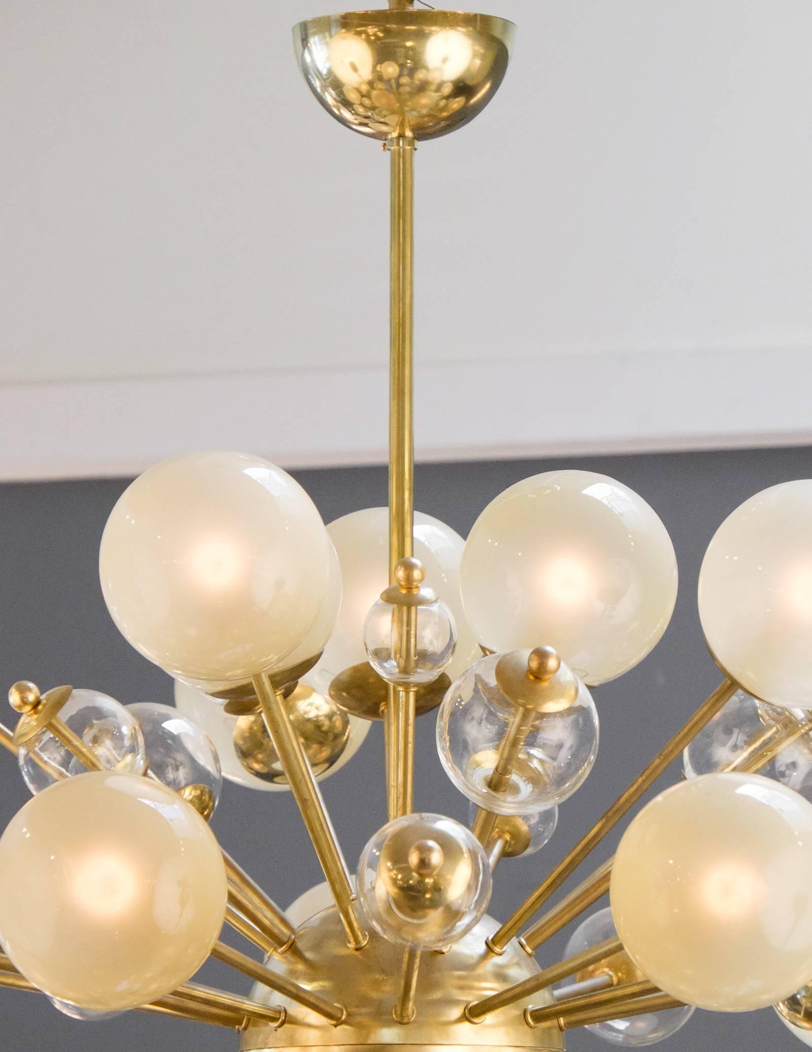 tokyo image chandelier in brass sputnik light decorative antique style