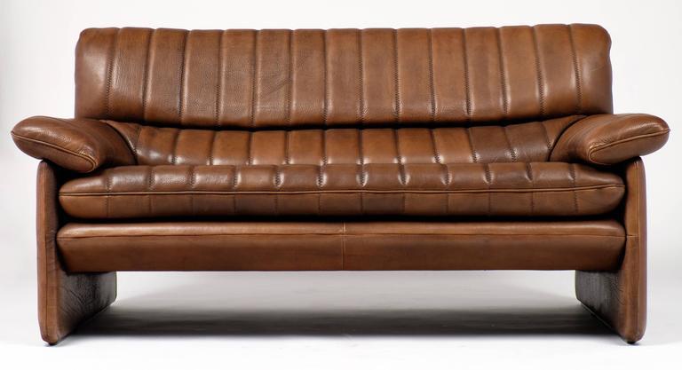 Vintage De Sede Ds 85 Soft Leather Sofa At 1stdibs