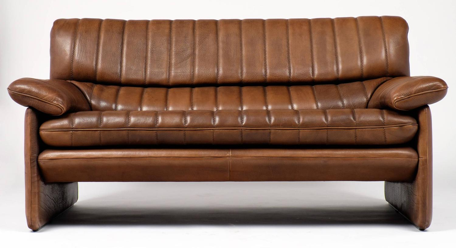 Phenomenal Vintage De Sede Ds 85 Soft Leather Sofa At 1Stdibs Pabps2019 Chair Design Images Pabps2019Com