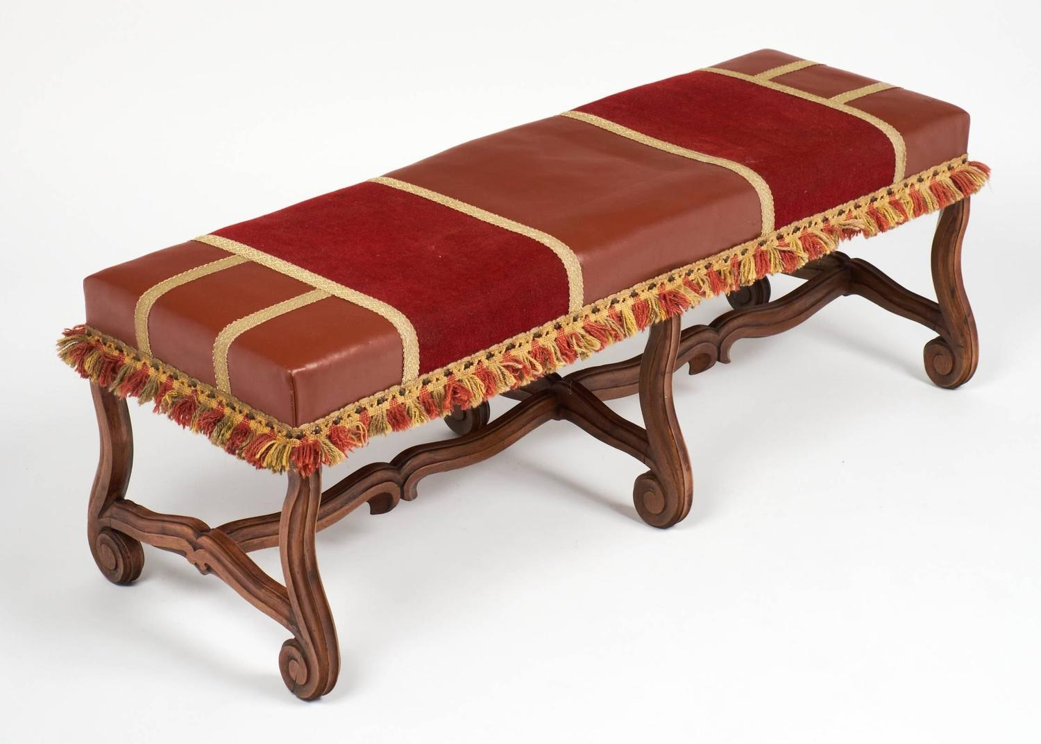 Antique Louis Xiv Style Hand Carved Bench For Sale At 1stdibs