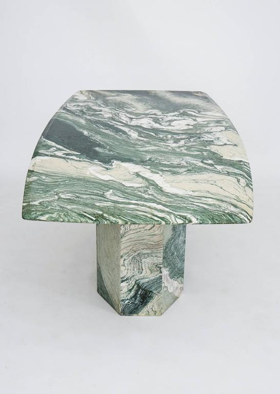Verde Luana Marble Top And Base Dining Table 3