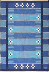 Vintage Swedish Kilim Rug
