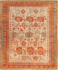 Primitive Turkish Oushak Rug