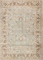 Antique Light Blue Persian Khorassan Rug