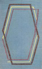 Vintage Swedish Kilim Rug by Brita Grahn