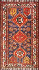 Beautiful Antique Tribal Persian Qashqai Rug