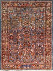 Antique Zigler Sultanabad Persian Rug