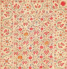 Early 19th Century Suzani Uzbek Textile
