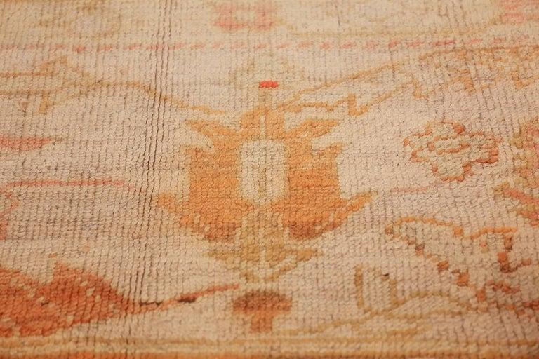 Antique Turkish Oushak Rug For Sale 2