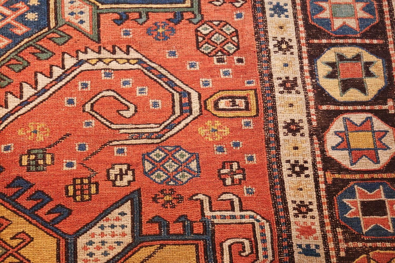 Gorgeous Antique Caucasian Soumak Rug